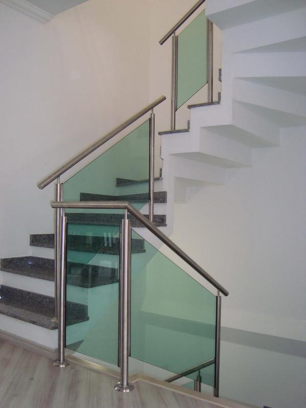 escada vidro temperado dm santos